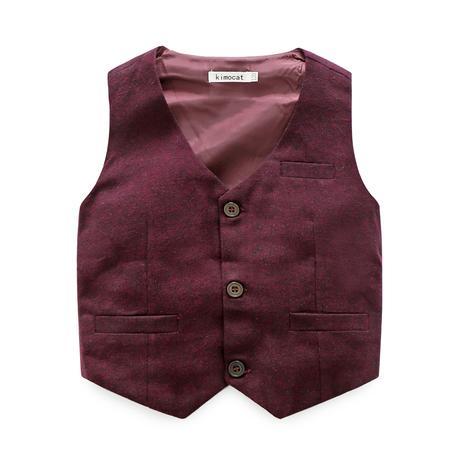 Burgundy -  společenský oblek k zapůjčení, 146