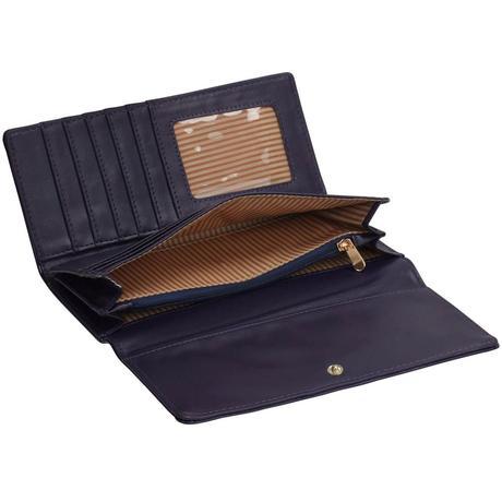 Černá lakovaná peněženka,  dárek k Vánocům,
