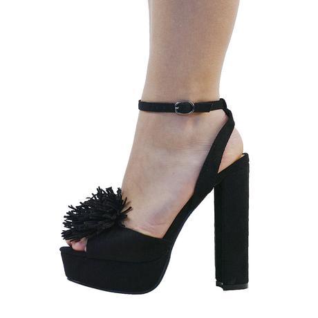 Černé extravagantní boty, 41