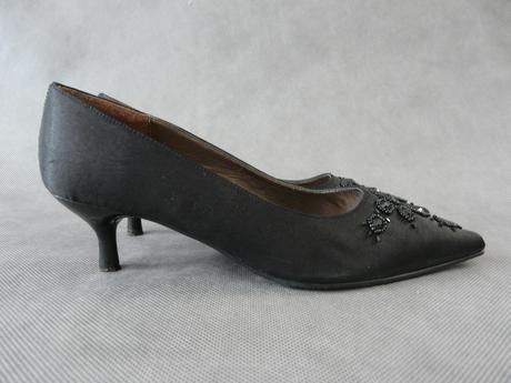 Černé nošené lodičky, 36