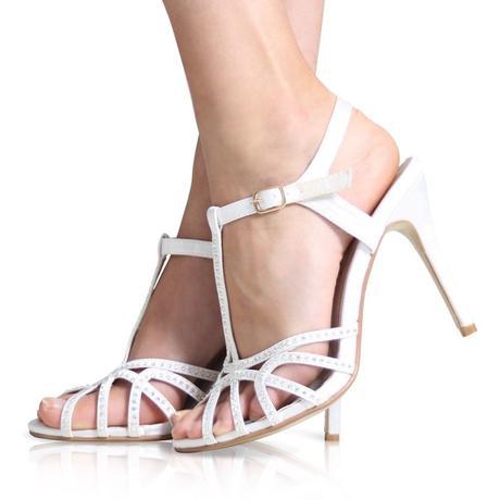 Černé společenské, plesové sandálky, 36-41, 37