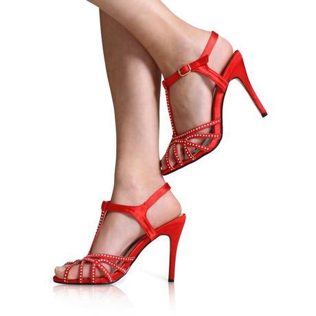 Černé společenské, plesové sandálky, 36-41, 39
