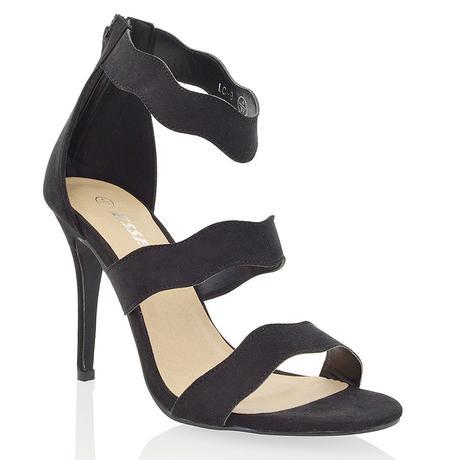 Černé společenské sandálky, 36-41, 37