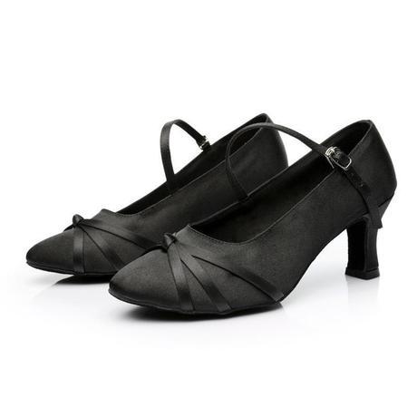 Černé taneční boty, střevíčky, 34-40, 34