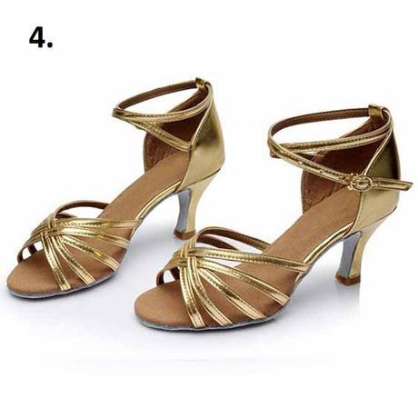 Černé taneční sandálky, 34-40, 36