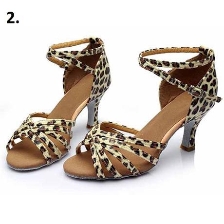 Černé taneční sandálky, 34-40, 39
