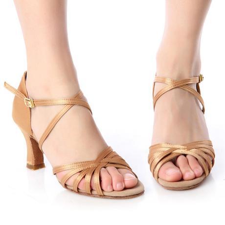 Černé taneční střevíčky, sandálky, 38,39,40, 38