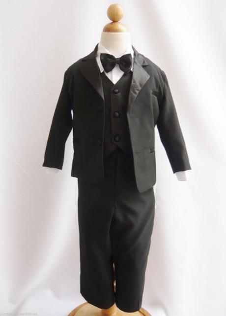 Černý společenský oblek, 0-20 let, 56
