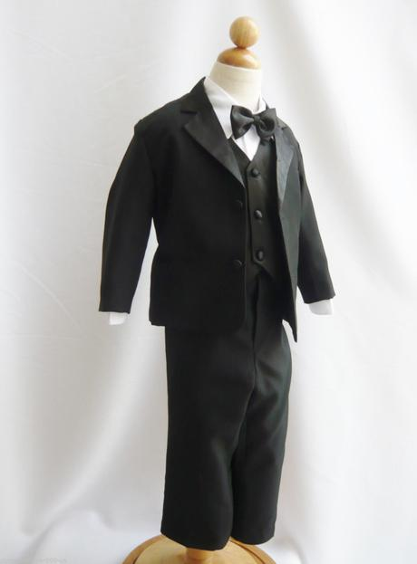 Černý společenský oblek, 0-20 let, 68