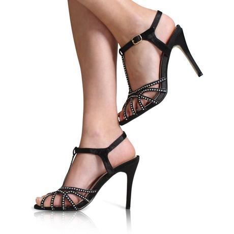 Červené společenské, svatební sandálky, 36-41, 38