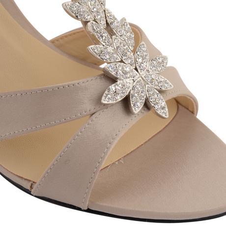 Champagne svatební, společenské sandálky, 36-41, 37