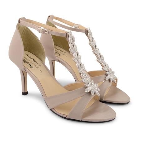 Champagne svatební, společenské sandálky, 36-41, 38