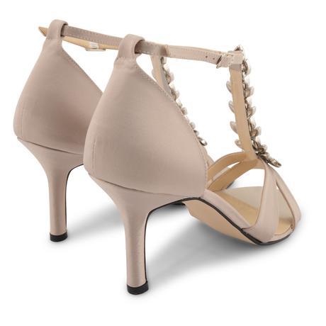Champagne svatební, společenské sandálky, 36-41, 41