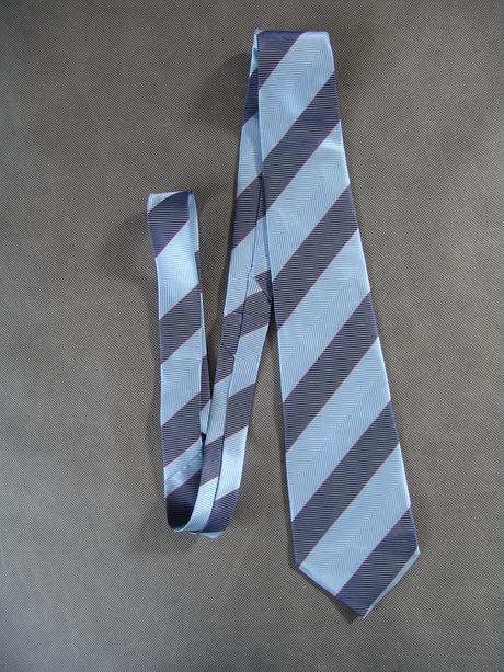 Chlapecká, pánská modrá kravata,