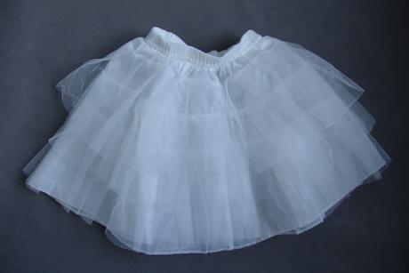 Dětská spodnička bez kruhů, 2-6 let, 98