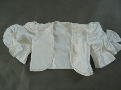 Dětské bolerko, ivory, 104