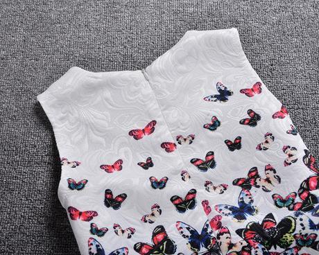 Dětské šaty nejenom na svatbu - motýlci, 128