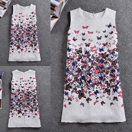 Dětské šaty nejenom na svatbu - motýlci, 134