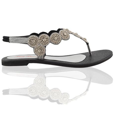 ELEANOR - svatební sandálky, 36