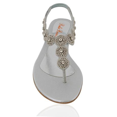 ELEANOR - svatební sandálky, 39