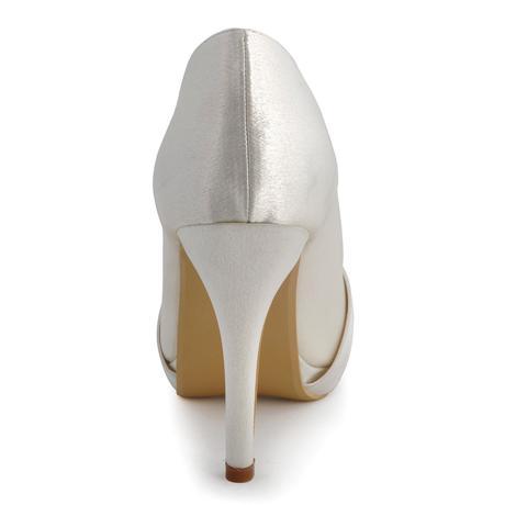 Elegantní ivory svatební lodičky, 22,5-26cm, 37