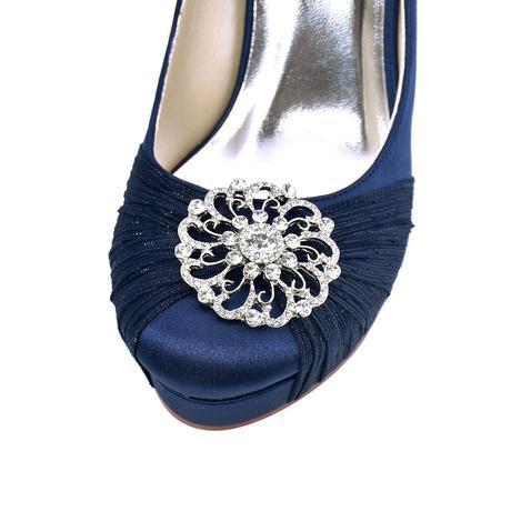 Elegantní světle modré lodičky, mint, 23-26cm, 37