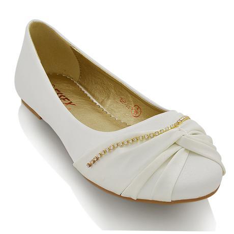 ELLABELLA - svatební balerínky, 40