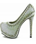 Extravagantní společenské sandálky, 37