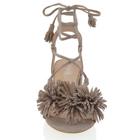 FAYE, černé společenské sandálky, 36-41, 39