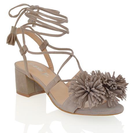 FAYE, šedé společenské sandálky, 36-41, 40