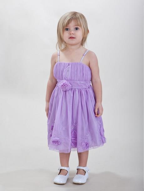 Fialové, lilla šaty pro družičku - 3-5 let, 110