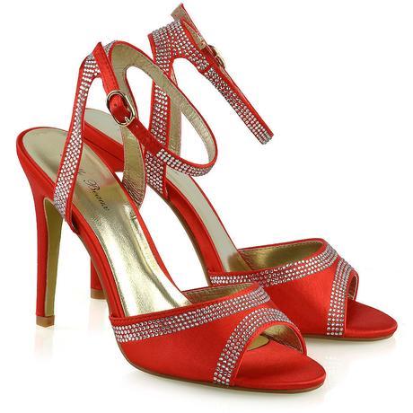 FS - Společenské, svatební sandálky, satén 36-41, 40