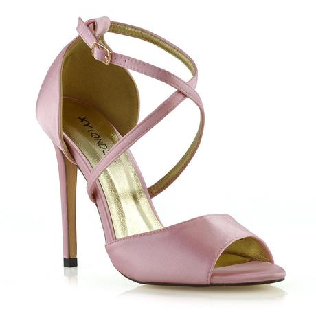 FS - Společenské, svatební sandálky, satén 36-41, 38