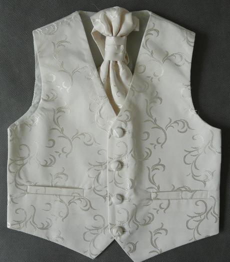 Ivory, krémový svatební oblek 12-18 měsíců půjčovn, 80
