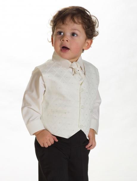 Ivory oblek svatební, na křtiny, půjčovné vel 0-8, 104