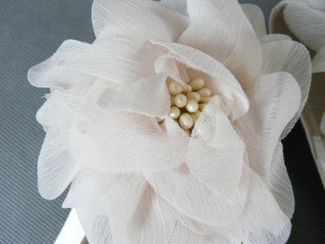 Ivory saténové svatební lodičky, 40