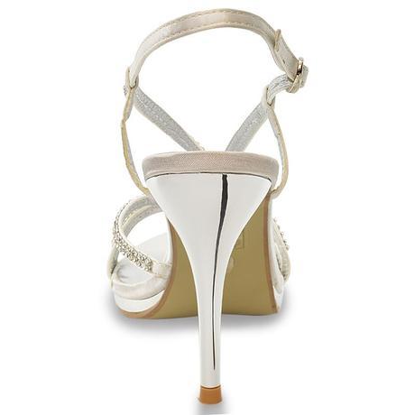Ivory svatební obuv, sandálky, 36-41, 37