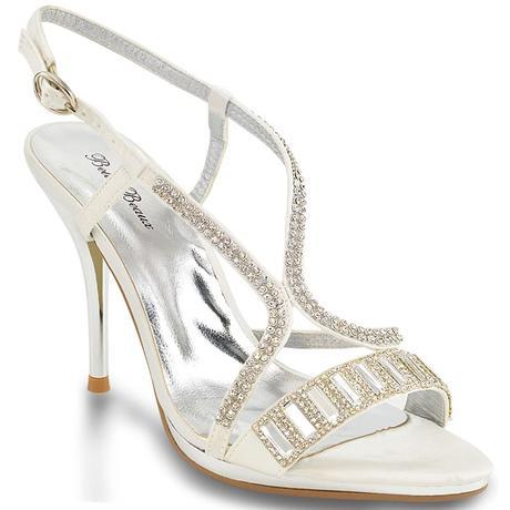 Ivory svatební obuv, sandálky, 36-41, 39