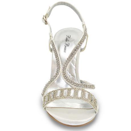 Ivory svatební obuv, sandálky, 36-41, 41