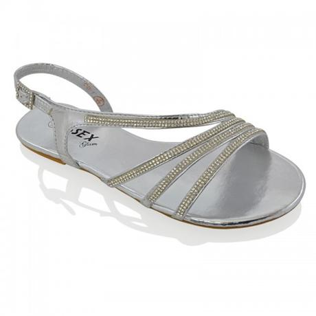 Ivory svatební, plážové sandálky, 36-41, 38