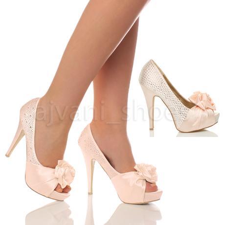 Ivory svatební sandálky, 12cm podpatek, 36-41, 37