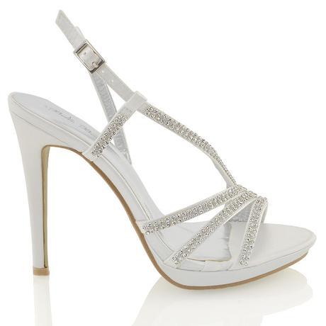 Ivory svatební sandálky, 12cm podpatek, 36-41, 38
