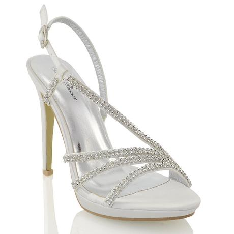 Ivory svatební sandálky, 12cm podpatek, 36-41, 39