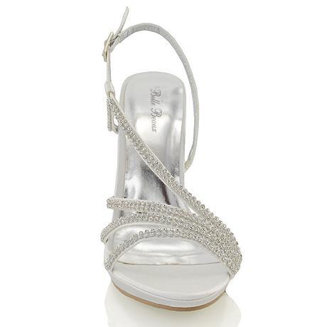Ivory svatební sandálky, 12cm podpatek, 36-41, 41