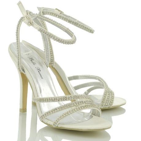 Ivory svatební sandálky, 36-41, 36