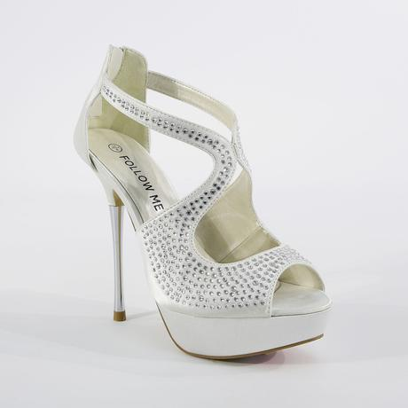 Ivory svatební sandálky, 36-41, 39