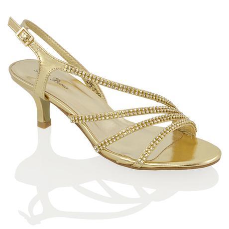 Ivory svatební sandálky, nízký podpatek, 36-41, 36
