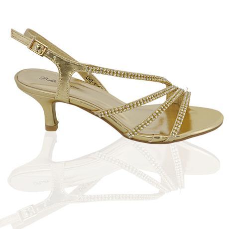 Ivory svatební sandálky, nízký podpatek, 36-41, 39