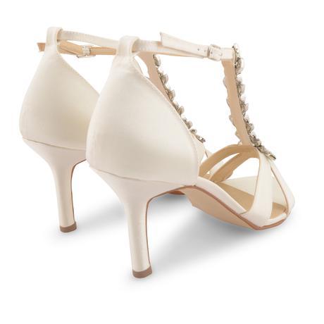 Ivory svatební, společenské sandálky, 36-41, 37