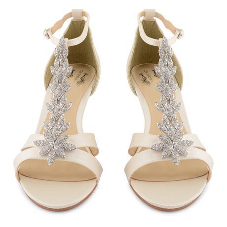 Ivory svatební, společenské sandálky, 36-41, 39
